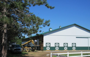 New Indoor Riding Arena & Classroom